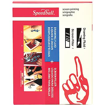 Speedball Drawing Fluid Screen Filler Kit Sb45031
