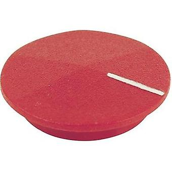 Cover + hand Red, White Suitable for K12 rotary knob Cliff CL177805 1 pc(s)