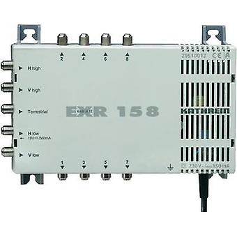 SAT multiswitch Kathrein EXR 158 Inputs (multiswitches): 5 (4 SAT/1 terrestrial) No. of participants: 8