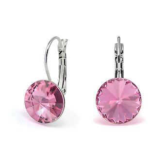 Kristall Ohrringe Rose EMB 1.1
