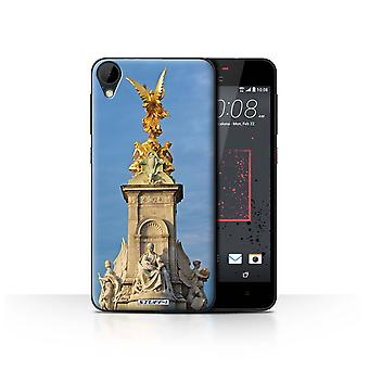 STUFF4 Case/Cover for HTC Desire 825/Victoria Memorial/London Sites