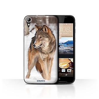 STUFF4 Case/Cover for HTC Desire 830/Wolf/Wildlife Animals