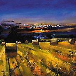 Davy Brown print - Harvest Sunset