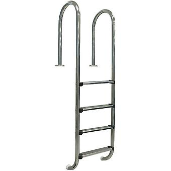 Gre Wall inground pool ladder 4 steps - Inox