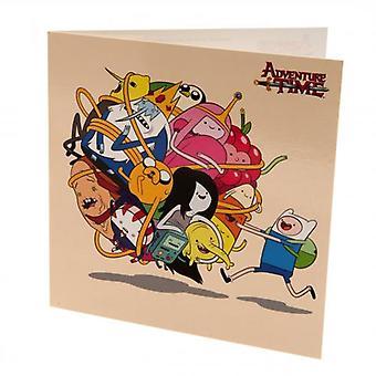 Adventure Time Blank Card