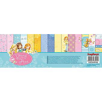 ScrapBerry's Young And Free Paper Pack 12
