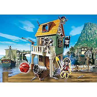 Playmobil 4796 Camouflaged Pirate Fort With Ruby