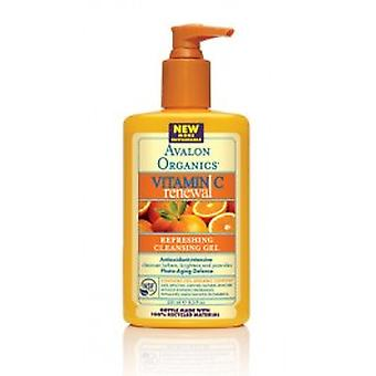 Avalon Organics - Vitamin C Refreshing Renewal Facial Cleanser Gel250ml