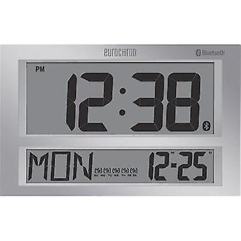 Radio Wall clock Eurochron 424 mm x 273 mm x 44 mm Grey