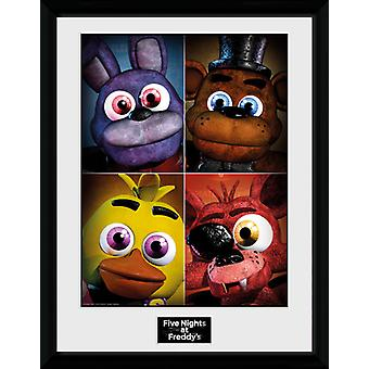 Five Nights At Freddy's Quad Collector Print