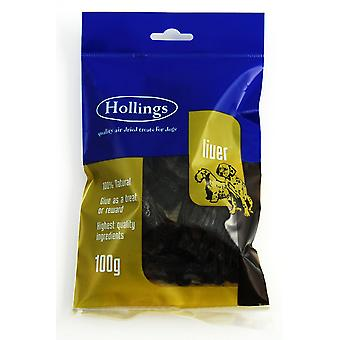 Hollings Liver Air Dried Pre Pack 100g (Pack of 20)