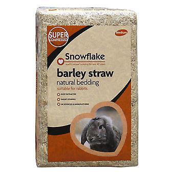 Snefnug Byg halm - Medium (pakke med 2)