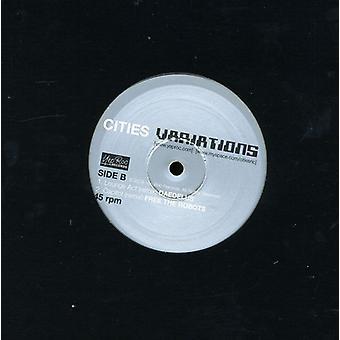 Cities - Variations EP [Vinyl] USA import