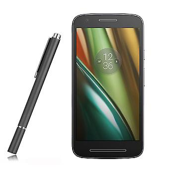 InventCase Ultra Thin Tip Premium Capacitive Disc Stylus Pen for Motorola Moto E3 2016