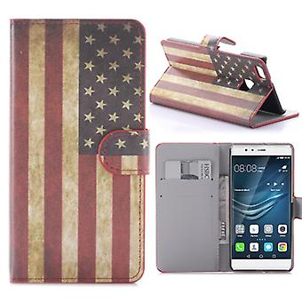 Pocket wallet Premium design 10 for Huawei P9 Lite shell case cover pouch