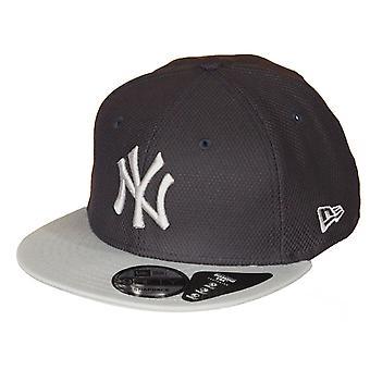 Nueva Era diamante Era contraste 9Fifty Flatbill Cap ~ Yankees de Nueva York