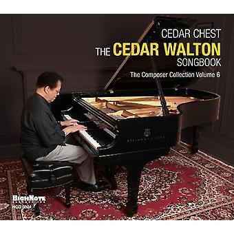 Cedar bryst-the Cedar Walton sangbog - cedertræ bryst-the Cedar Walton sangbog [CD] USA importerer