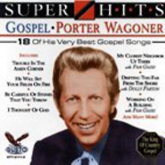 Porter Wagoner - Super Hits evangelium [CD] USA importerer