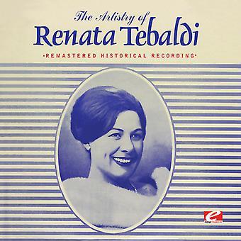 Renata Tebaldi - Artistry of Renata Tebaldi [CD] USA import