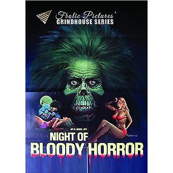 Natten til blodig Horror [DVD] USA import