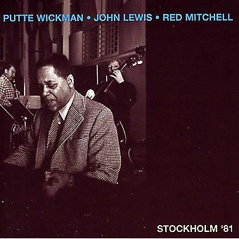 Wickman/Lewis/Mitchell - Stockholm ' 81 [CD] USA import