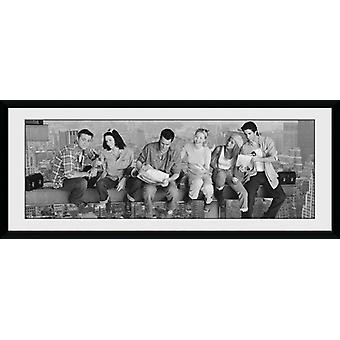 Friends Girder Framed Collector Print