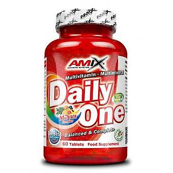 Amix One Daily 60 Tablets (Dietetics and nutrition , Supplements , Body , Antioxidants)