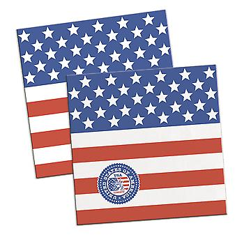 USA party 16 napkins America stars and stripes party napkin