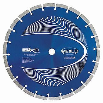 Hoja de Mexco 115Mm X10 concreto grado diamante