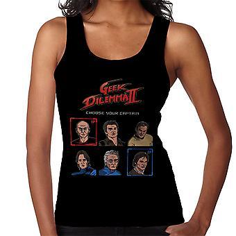 Geek Dilemma II Choose Your Captain Women's Vest