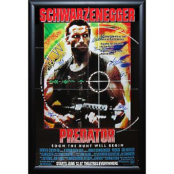 Predator - Signed Movie Poster