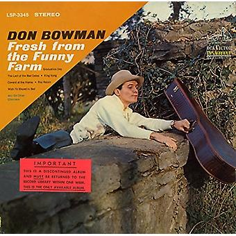 Don Bowman - Fresh From the Funny Farm [CD] USA import