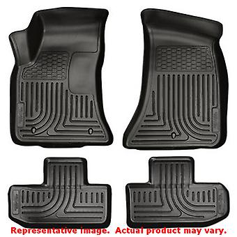 Husky Liners 98071 Black WeatherBeater Front & 2nd Seat FITS:DODGE 2011 - 2014