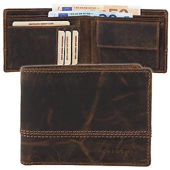 GREEN country classic Buffalo leather purse wallet 2556-25