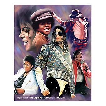 Michael Jackson - The King of Pop Poster Print by Wishum Gregory ( x 11)