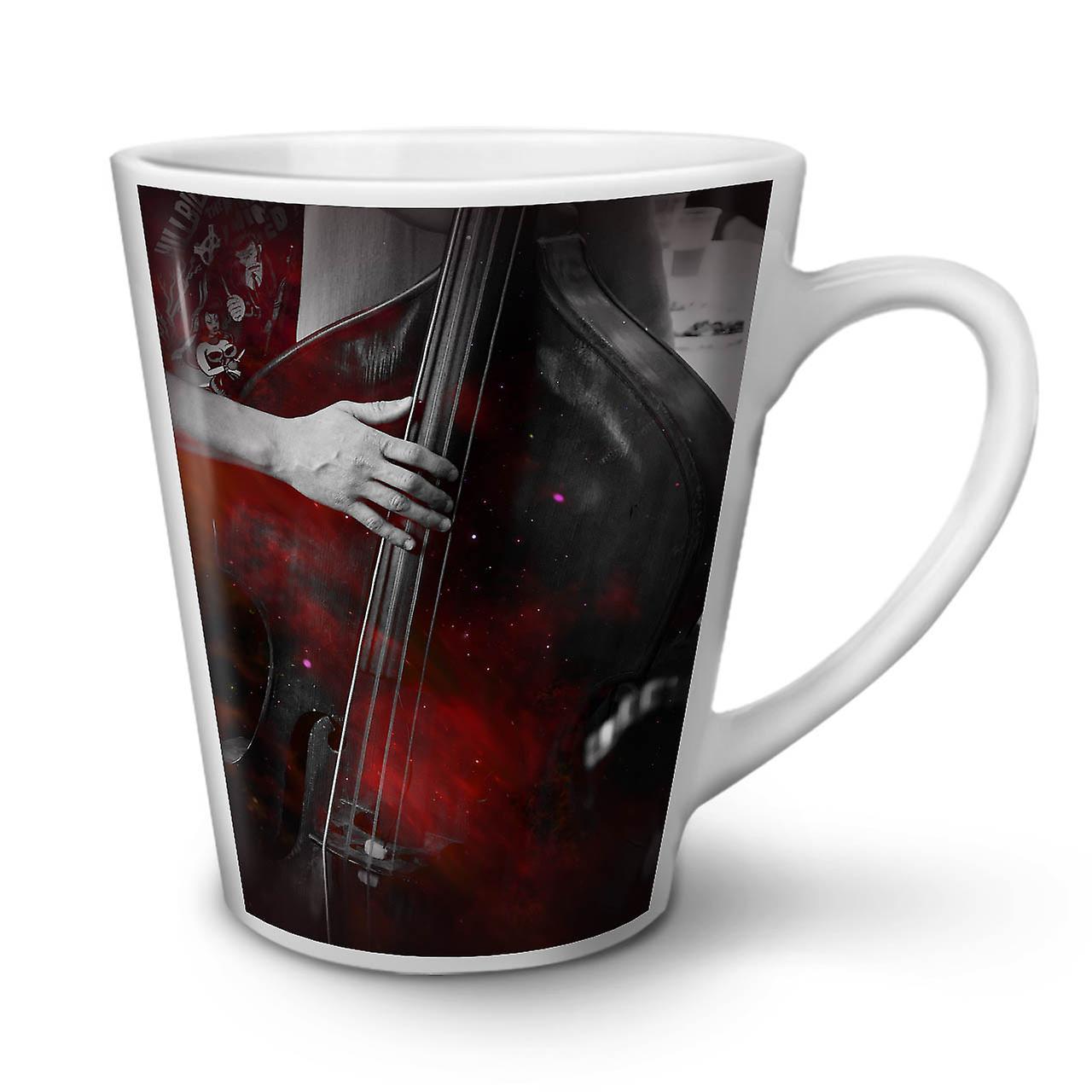 Jazz Tasse Blanche En Ancienne Latte 12 Musique Bass Céramique Café Art OzWellcoda Nouvelle 4LRA5jc3qS