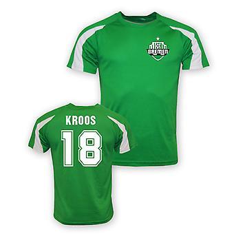 Felix Kroos Werder Bremen Sports Training Jersey (green)