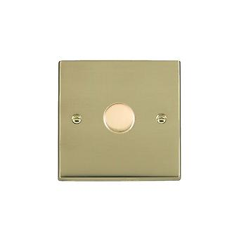 Hamilton Litestat Cheriton Victorian Polished Brass 1g 300VA 2 Way Dimmer PB