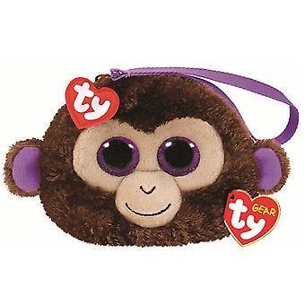 TY Beanie Boo Wristlet - Coconut the Monkey