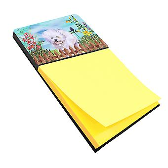 Carolines Treasures  CK1210SN Bichon Frise Spring Sticky Note Holder