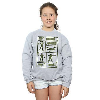 Disney Girls Toy Story The Plastic Platoon Sweatshirt