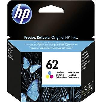 HP Ink 62 Original Cyan, Magenta, Yellow C2P06AE