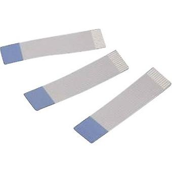 Ribbon cable Contact spacing: 1 mm 26 x 0.00099 mm² Grey, Blue