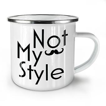 Mein Stil neue WhiteTea Kaffee Emaille Mug10 oz   Wellcoda