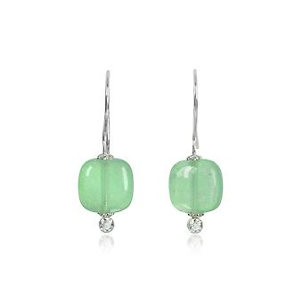 Antica Murrina ladies OR549A08 green steel earrings