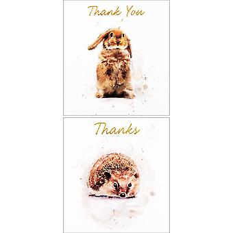 Simon Elvin Thank You Twin Display Packs (Pack Of 6)