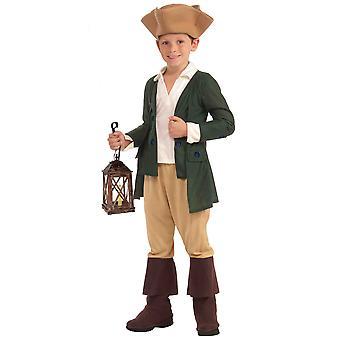 Paul Revere American Patriot Colonial Revolutionary War Book Week Boys Costume