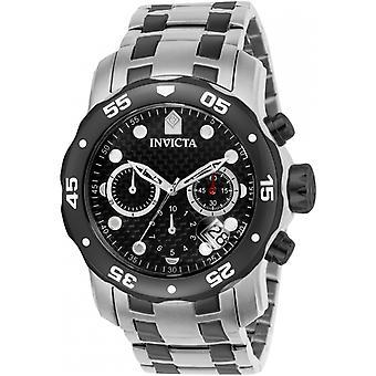 Invicta Pro Diver 14339 rostfritt stål kronograf klocka