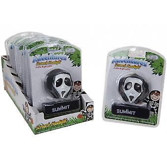 Summit Kids Halloween Mask Screech Headlight Black/White
