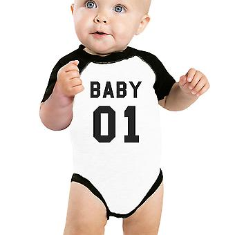 Baby 01 Baby Baseball Bodysuit Unique Family Matching Shirt For Baby